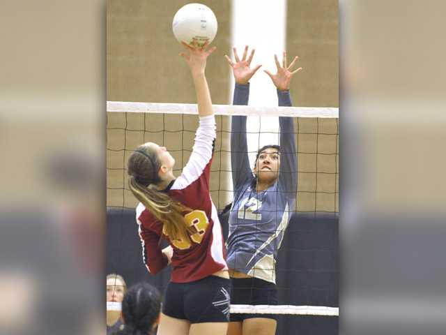 Girls volleyball - sportspages