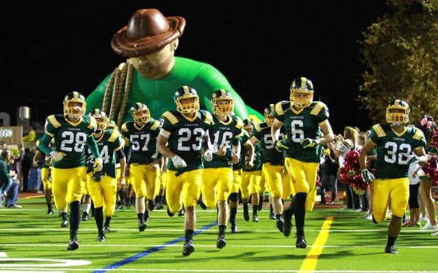 Canyon Cowboys football team photo - daily sport news