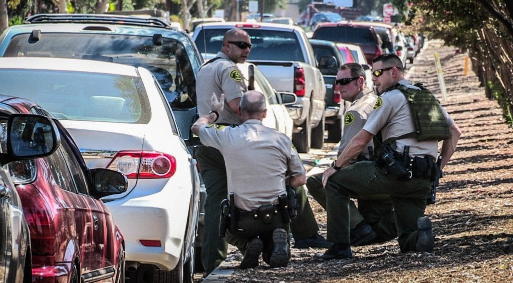 Newhall Standoff