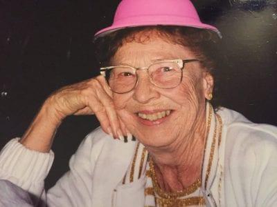 Mary Herberg with hat photo - santa clarita valley news