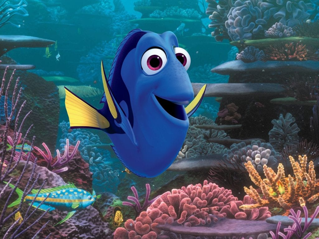 """Finding Dory"" by Pixar studios - santa clarita movies"