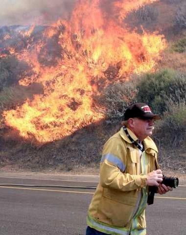 Grass on fire - local news alerts