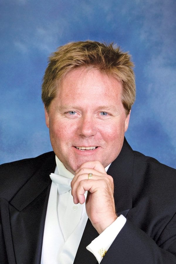 Jeffrey Gilbert, Music Director for the Santa Clarita Philharmonic. Courtesy photo