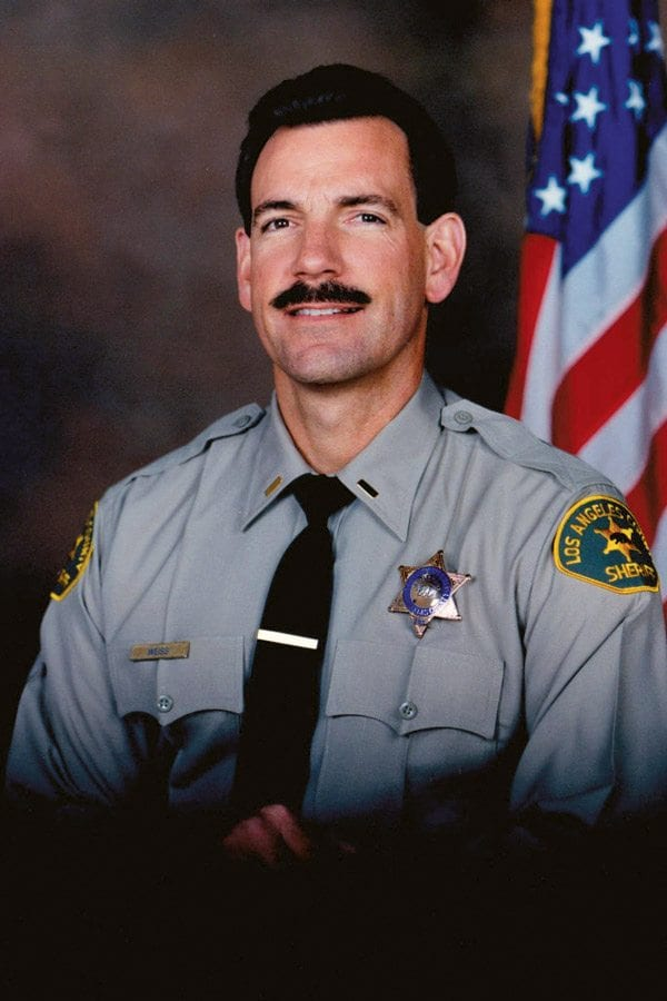 """Retired L.A. County Sheriff Lieutenant and author of """"Never Again"""" Bill Weiss. Courtesy photo"""