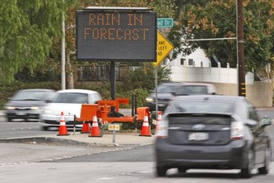 Bouquet Canyon Road is open, for now