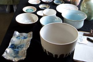 Pottery by Adeline Wysong. Photo by Kathleen Larsen