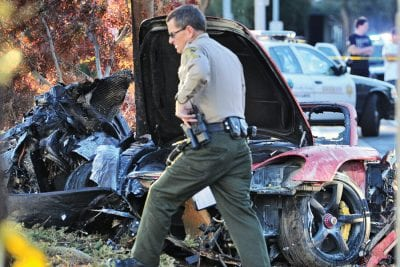 Assault suspect was on probation for theft of Paul Walker car part when arrested