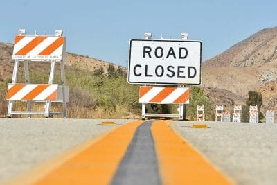 Bouquet Canyon Road reopens Monday afternoon