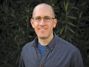 """Valencia resident and teacher, Adam Holland, author of """"Anchored in the Storm."""" Courtesy photo"""