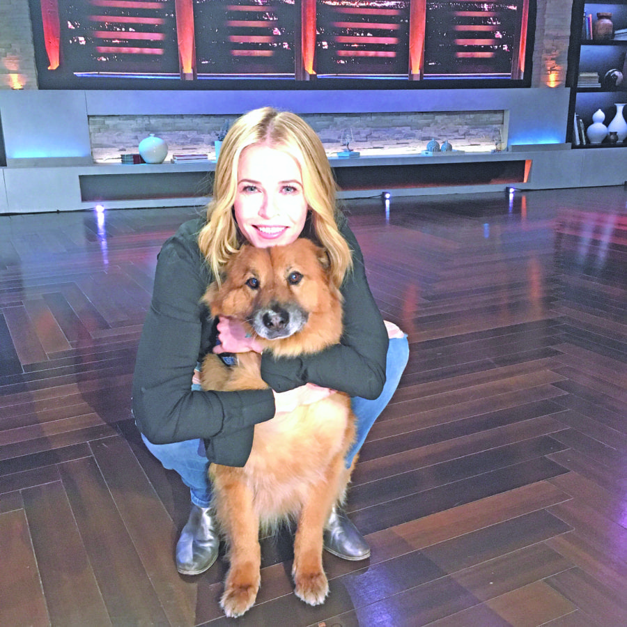 Courtesy photo Chelsea Handler and her dog Chunk will strut their stuff to raise funds for Best Friends Animal Society's largest annual fundraiser.