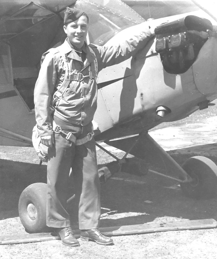 Paul Yadlosky basic flying school 1943.