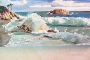 'Laguna Beach,' oil by Dody Rogers