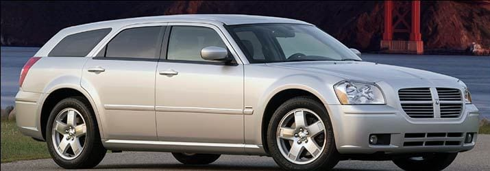 A Dodge Magnum was sought in connection with the case.