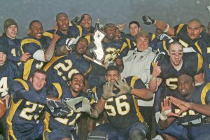 The 2004 National Championship Football Team will be inducted into the Hall of Fame. Photo courtesy COC Sports Information.