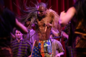 Nani Agbeli, faculty in the African Music and Dance program. Photo Courtesy of Steven A. Gunther/ CalArts