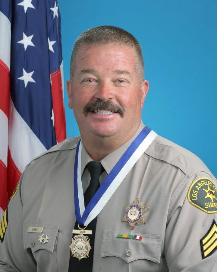 Los Angeles County Sheriff's Sgt. Steven Owen