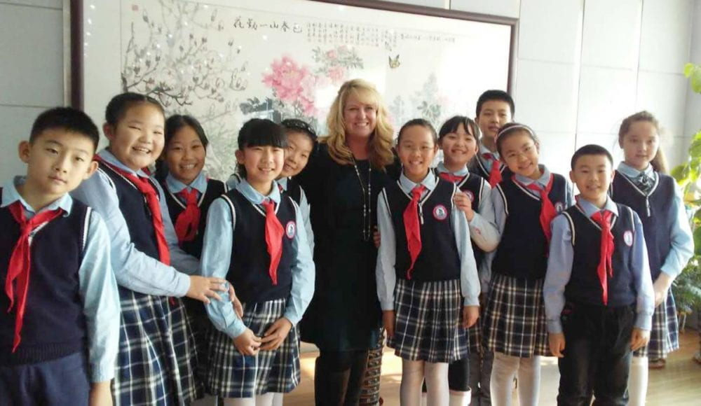 Photos from Stephanie Beach's recent trip to China visiting schools for the partnership between Castaic Elementary School, Dalian Dante Education Co. Ltd and Los Angeles Language Academy. Courtesy of Stephanie Beach