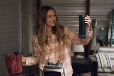 "Drew Barrymore in ""Santa Clarita Diet,"" which premieres Feb. 3 on Netflix. Photo courtesy of Netflix."