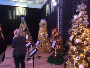 The 14th annual Festival of Trees hosted by the Boys and Girls Club of Santa Clarita Valley features 39 unique and elaborate trees available for silent auction and live auction throughout the week. CHRISTINA COX/Signal