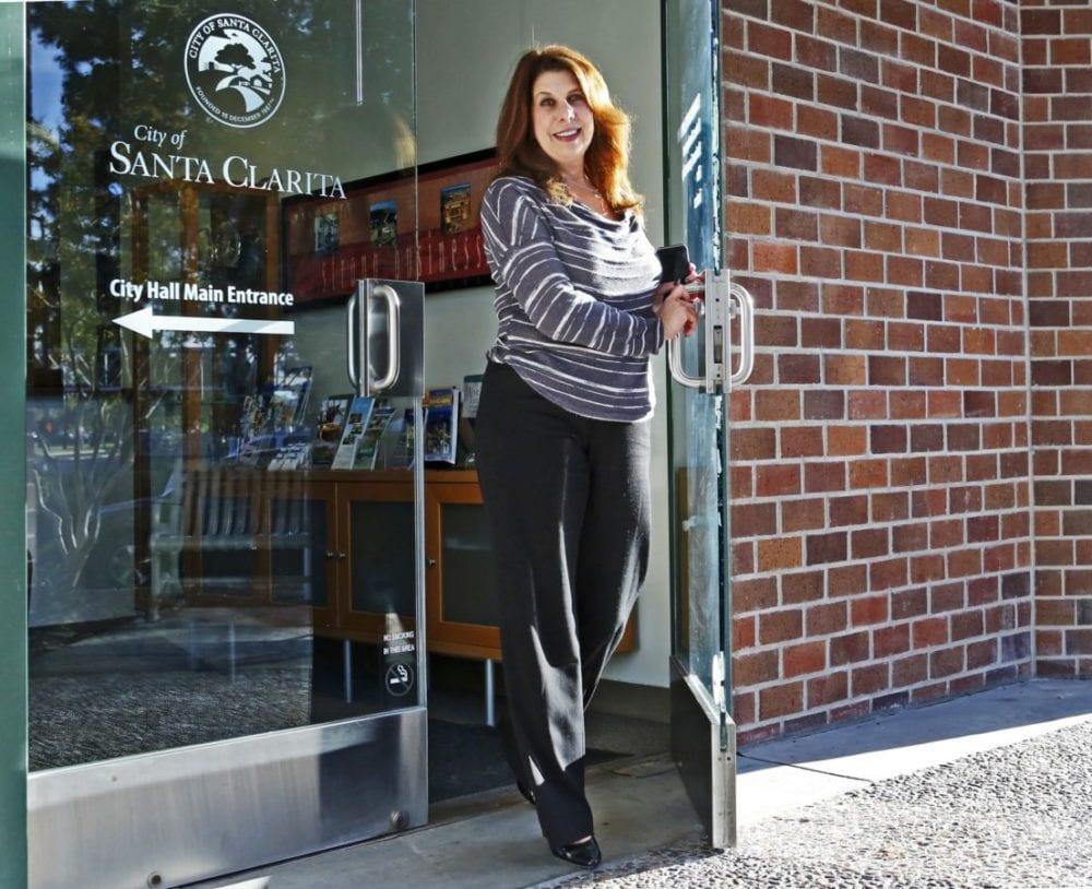 The City of Santa Clarita's Gail Morgan makes her exit Dec. 27 when she will retire. Katharine Lotze/Signal