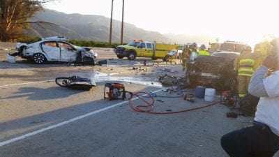 Driver killed in Highway 126 crash ID'd; Valencia man unhurt