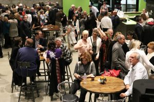 Attendees gather at Soup for the Soul, a fundraiser held by Bridge to Home at Savia: a Community Partnership in Newhall on Saturday. Nikolas Samuels/The Signal