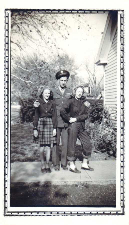 Henry James with cousin Charlotte and sister Virginia. Courtesy photo.