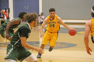 College of the Canyons Alex Sanchez, a Valencia High graduate, is a key returner for a Cougars team looking to rebound from last season's results. Photo courtesy Jesse Munoz/COC Sports Information
