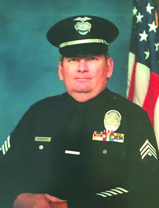 John P. Edwards LAPD Portrait. Courtesy photo.