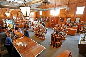 Agau Dulce Winery's tasting room is open daily. (Katharine Lotze / The Signal)