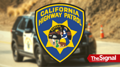 Collision delays traffic on Northbound 14 near Newhall Avenue Saturday afternoon