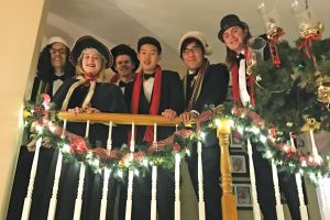 Members of the Valencia High School Choir at the annual Delta Kappa Gamma holiday party. Courtesy photo