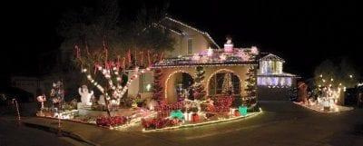 Holiday Lights: Cotton Blossom Lane