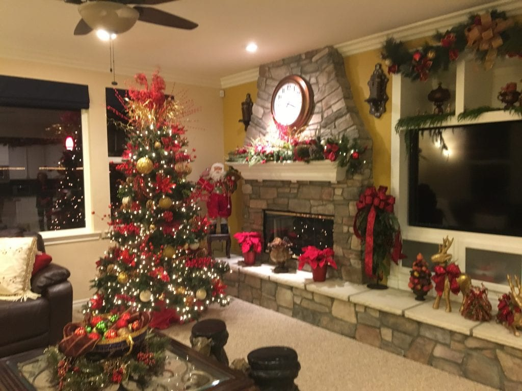 Christmas awaits the family of Saber Patrus, MD and Fatin Patrus at their Valencia home, decorated for the 36th Holiday Home Tour which has raised nearly $1 million for women's services, Henry Mayo Newhall Hospital Foundation. Susan Springer/The Signal