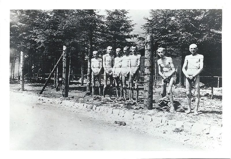 Courtesy photo. The day that Dachau concentration camp was liberated, April 29, 1945.