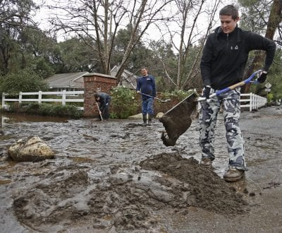 Rainfall could bring debris flow danger to recent burn areas
