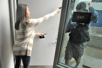 Saugus High School conducts lockdown drill