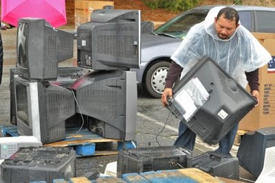 Safe document and electronics disposal event