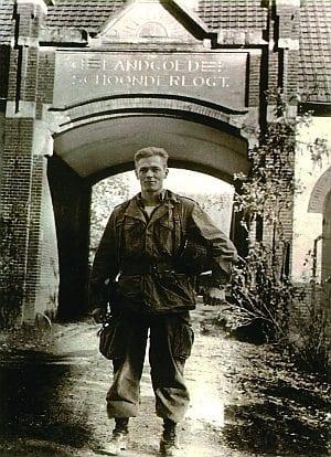 Caption: Captain (later Major) Dick Winters, commander of Easy Company. Courtesy photo.