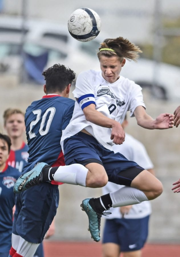 James Johnson of Saugus High Soccer. Dan Watson/The Signal