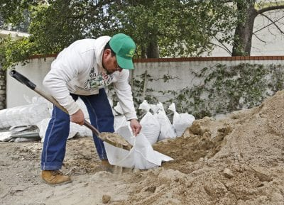 Local fire stations offer sandbags to residents