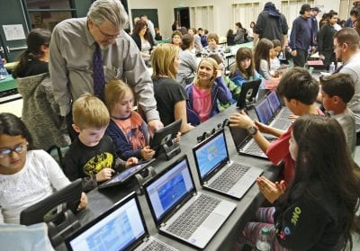 Young scientists show off talents at STEAM Expo