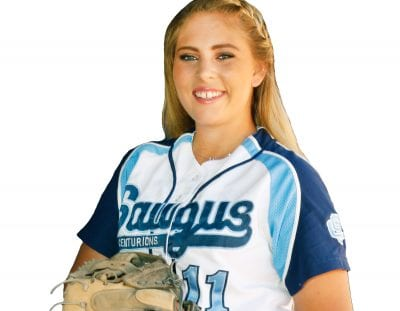 Saugus softball's FitzGerald a perfect fit as Cents catcher