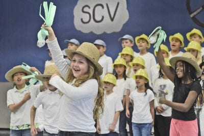 Students explore SCV history through song and dance