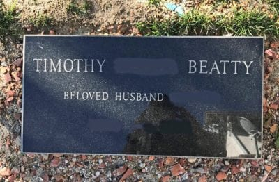 Stevenson Ranch woman finds tombstone on her front lawn