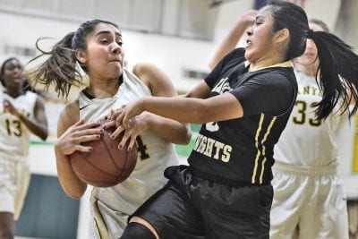 Canyon girls hoops' bench comes up big against Bishop Montgomery