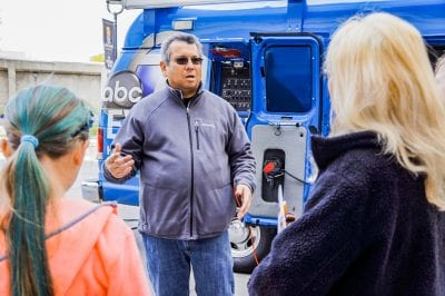 Media professionals share experience with students