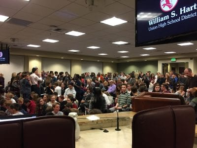 AEA parents frustrated in transfer process to Hart District schools