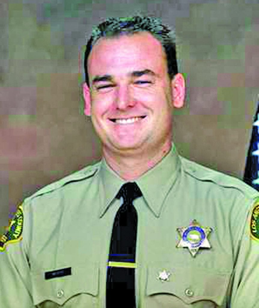 """The story of Deputy David March, a Santa Clarita Valley resident killed in the line of duty, is one of nine stories shared by former L.A. County District Attorney Steve Cooley, in his recent released book, """"Blue Lives Matter."""""""