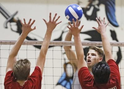Foothill boys v-ball roundup: Cents perform under pressure; West Ranch, Valencia win too